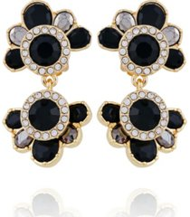 t tahari women's winter bloom clip statement earring
