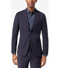 calvin klein men's skinny-fit extra slim infinite stretch suit jacket