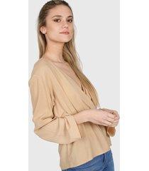 blusa camel nano camila 0220