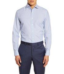 men's eton soft casual line slim fit button-up shirt