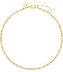 brook and york emma box chain anklet in gold at nordstrom