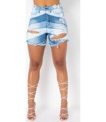 akira the perfect high waisted denim shorts