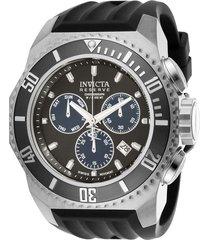 reloj invicta negro modelo 257an para , colección russian diver