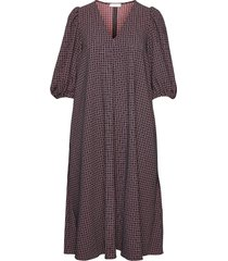 mavelin, 1081 grid stretch dresses everyday dresses multi/patroon stine goya