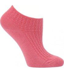 calcetín algodón marseille rosa mujer hush puppies