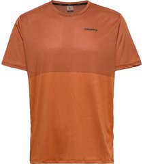 core sence structured tee m t-shirts short-sleeved brun craft