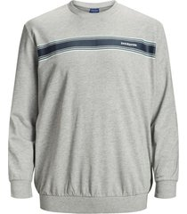 jack & jones sweater lichtgrijs plus size