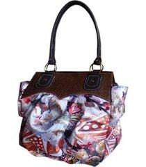 bolsa artestore em palha marieta e natureza floral