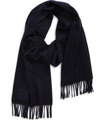 women's max mara dalia cashmere scarf, size one size - red