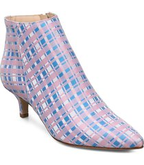 bobby shoes boots ankle boots ankle boots with heel multi/mönstrad jennie-ellen