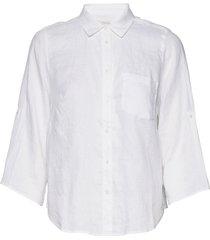 cindiepw sh overhemd met lange mouwen wit part two