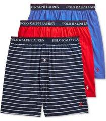 polo ralph lauren men's classic-fit cotton jersey boxer