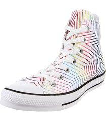 zapatilla blanca converse  chuck taylor all star rainbow