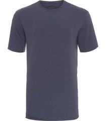 t-shirt masculina lines pocket navy - azul marinho
