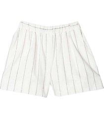 brunello cucinelli striped shorts