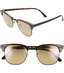 men's ray-ban clubmaster 51mm sunglasses -