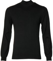 matinique pullover - slim fit - zwart