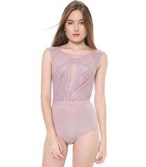 body calvin klein underwear renda rosa