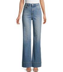 current/elliott women's high-rise maritime fit jeans - blue - size 24 (0)