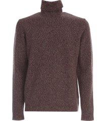 nuur cashmere sweater l/s turtle neck mouline