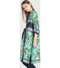 kimono azul-verde paris district
