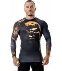 camiseta rash guard muerte certa gladiadores