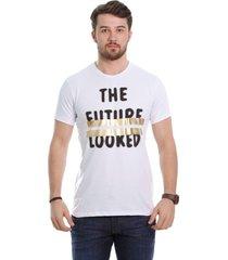 camiseta javali branca future
