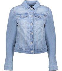 geisha 15005-10 830 jeansjacket bleached denim