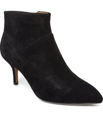 stb-valentine s shoes boots ankle boots ankle boots with heel svart shoe the bear