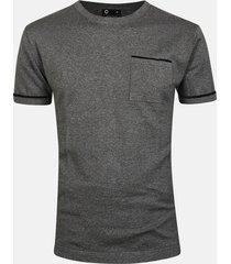 alex t-shirt - melerad mörkgrå