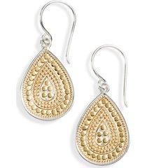 women's anna beck small teardrop earrings