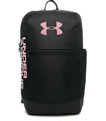 morral negro-rosado under armour patterson backpack