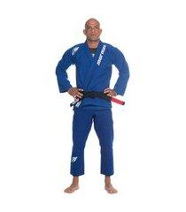kimono jiu-jitsu ultraskin pro unissex mormaii azul