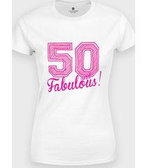 koszulka 50 and fabulous