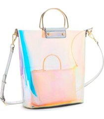 like dreams hologram ring handle tote bag