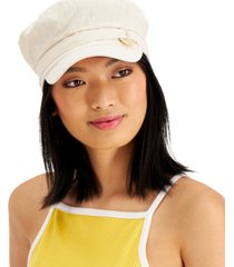 inc circle-trim military hat, created for macy's
