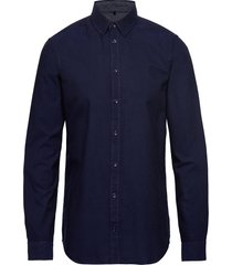 bhnail shirt slim fit skjorta business blå blend