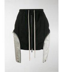 rick owens dropped pocket mini skirt