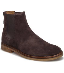 clarkdale gobi shoes chelsea boots brun clarks