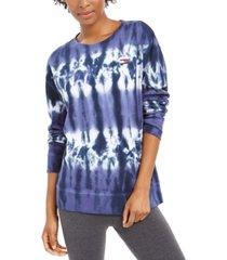 tommy hilfiger french terry tie-dye sweatshirt