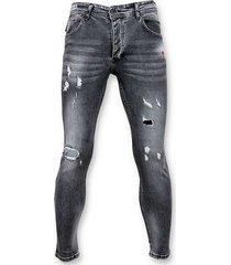 skinny jeans true rise skinny fit paint drops jeans spijkerbroek