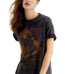 junk food janis joplin oversized graphic t-shirt