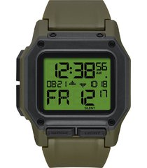men's nixon regulus digital watch, 46mm