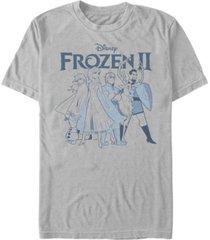 fifth sun men's adventurers short sleeve crew t-shirt