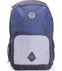 mochila escolar lifestyle azul maui and sons