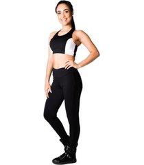 calça feminina adamas legging cintura alta
