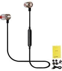audífonos bluetooth deportivos, shuua le-225bl inalámbrico bluetooth 4.1 estéreo que ejecutan música manos libres auriculares para sony iphone samsung - marrón