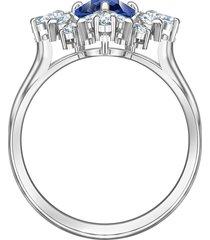 anel feminino palace motif em metal - ródio