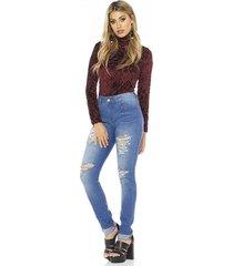 Vestido jeans sly wear