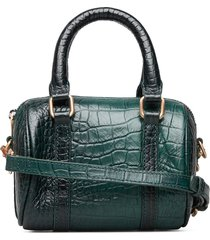 day oslo croco cb bags top handle bags groen day et